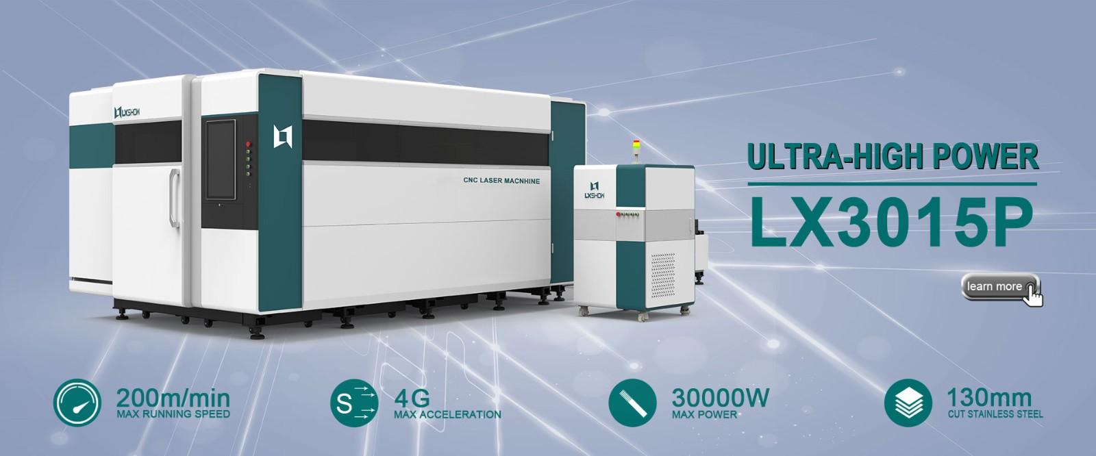 Laser Sheet Metal Cutter LX3015P