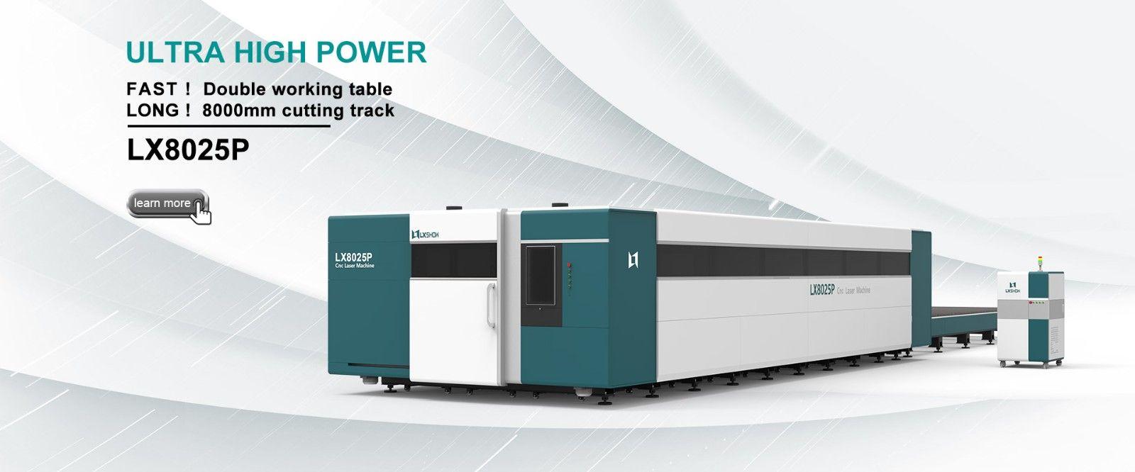 Laser Sheet Metal Cutter LX8025P