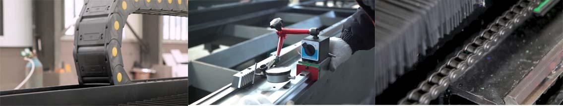 Measuring precision of guide rail