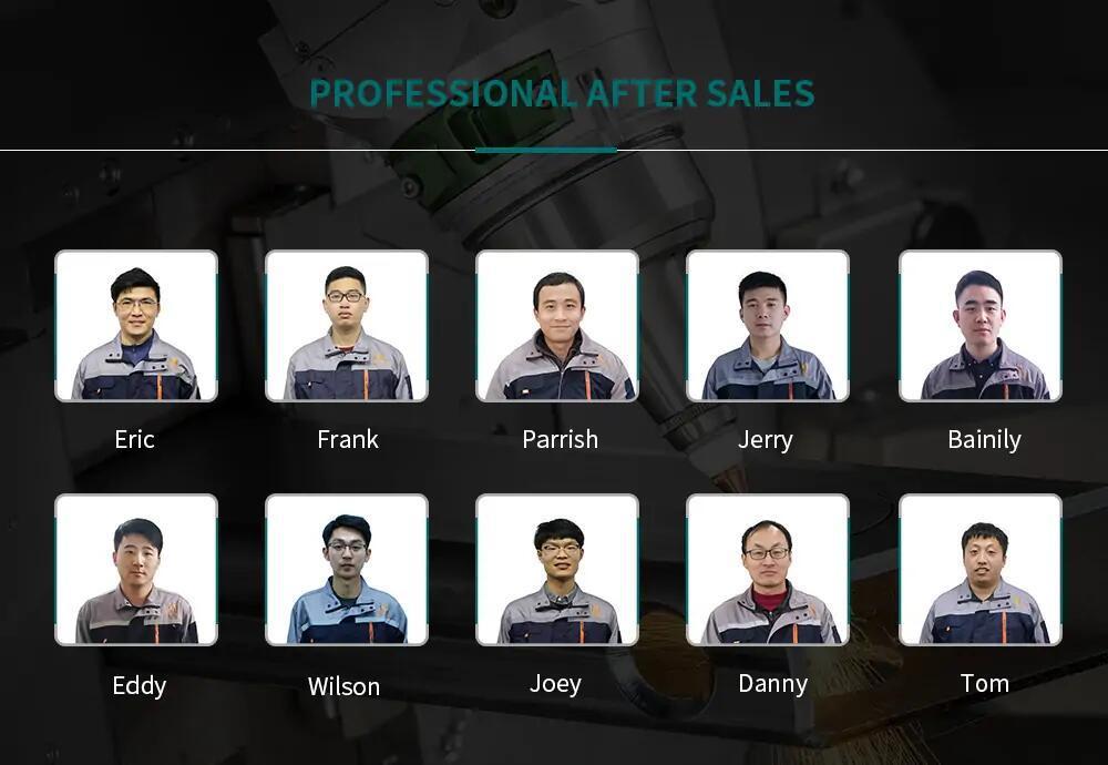 MYST after-sales team