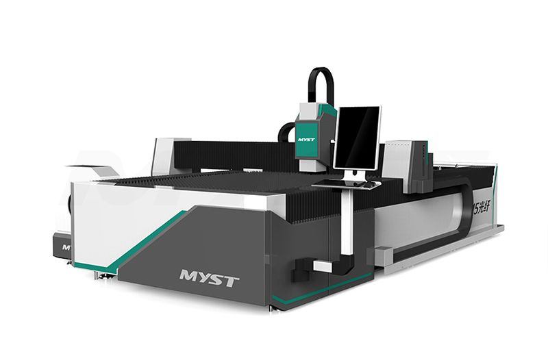 MTF3015R Excellent CNC Fiber Laser Cutting Machine With Rotary