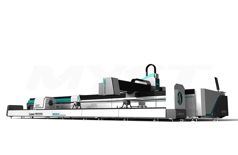 MTF3015JR Fiber Laser Cutting Machine With Rotary And Exchange Table