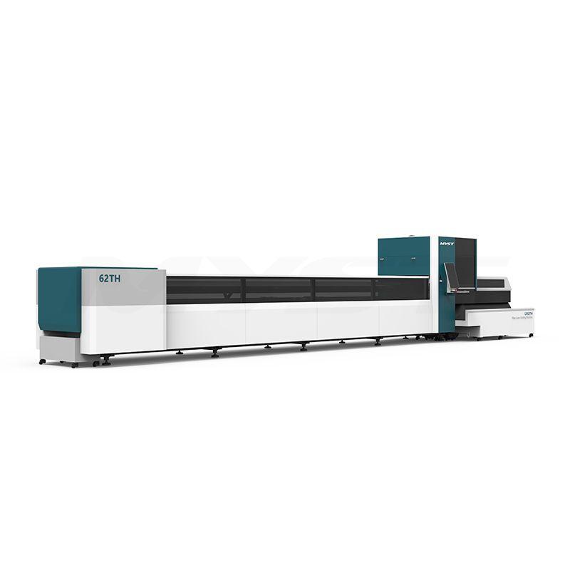 Round Square tube metal stainless steel carbon steel iron pipe fiber laser tube cutting machine 1000W 2000W 3000W 4000W 6000W