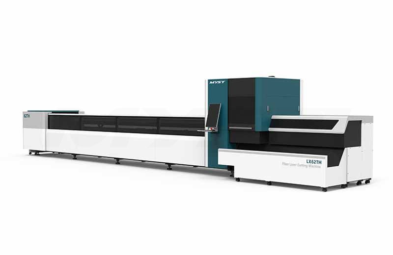 MT62TH Round Square tube metal stainless steel carbon steel iron pipe fiber laser tube cutting machine 1000W 2000W 3000W 4000W 6000W