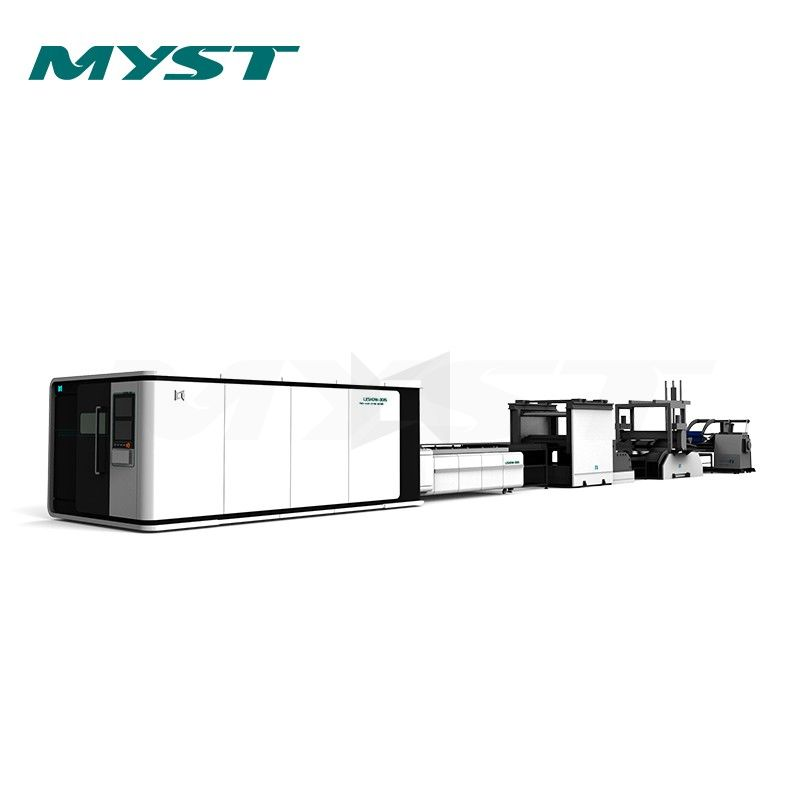 LX3015FL Solutions for a whole processing system 3015 enclosed fiber laser cutting cutter machine 1530 Price  1500W 2KW