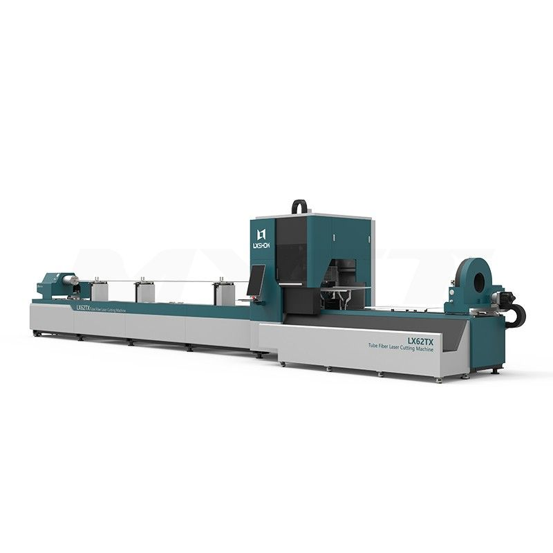 LX62Ⅲ stainless steel carbon steel aluminum cnc 3d round and square metal pipe fiber laser tube cutting machine for sale