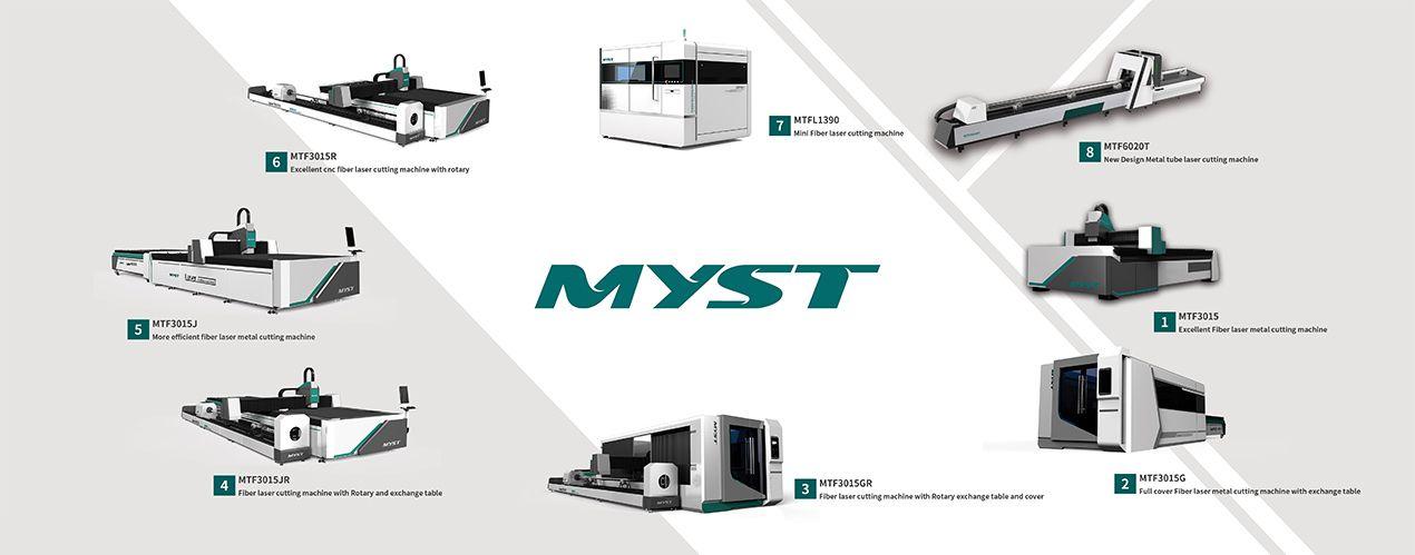 More Efficient Fiber Laser Metal Cutting Machine MTF3015J