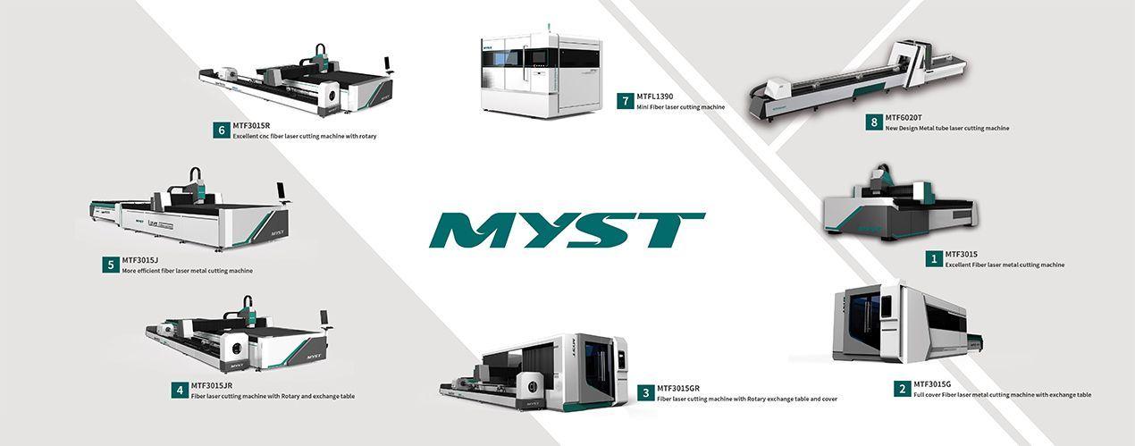 MYST MTF1390 mini fiber laser cutting machine