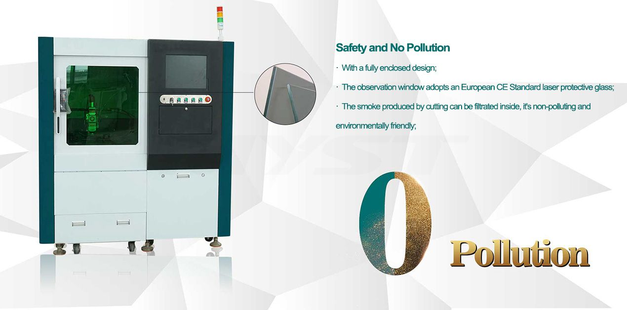 MTF0640Mini small cnc laser metal steel sheet cutter 500w 750w 1000w 1kw 1500w