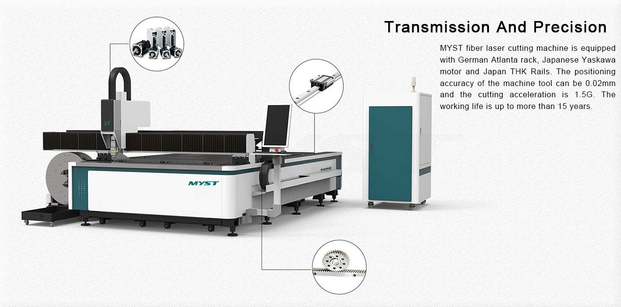 500w 1000w 1500w 2000w sheet metal online for raycus fiber laser cutting machine price steel stainless thickness MT3015FT