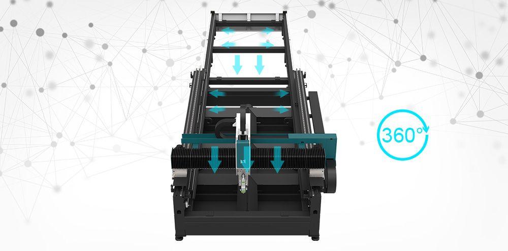 MT3015E Metal iron sheet laser cutter beam light cutting design signs art artwork machine price for sale